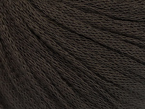 Fiber Content 50% Wool, 50% Acrylic, Brand ICE, Coffee Brown, Yarn Thickness 4 Medium  Worsted, Afghan, Aran, fnt2-51493