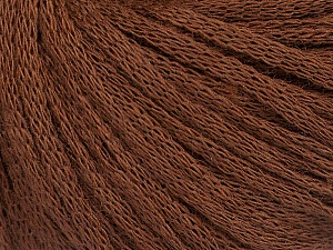 Fiber Content 50% Wool, 50% Acrylic, Brand ICE, Brown, Yarn Thickness 4 Medium  Worsted, Afghan, Aran, fnt2-51495