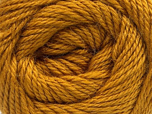 Fiber Content 45% Alpaca, 30% Polyamide, 25% Wool, Brand ICE, Gold, Yarn Thickness 3 Light  DK, Light, Worsted, fnt2-51529