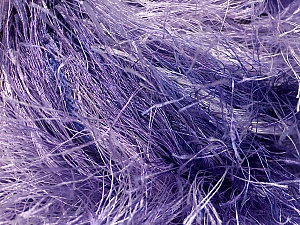 Fiber Content 100% Polyester, Lilac Shades, Brand ICE, Yarn Thickness 6 SuperBulky  Bulky, Roving, fnt2-51607