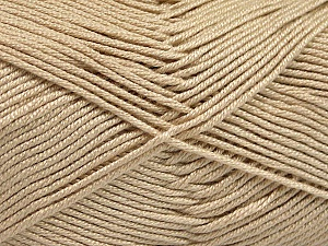 Fiber Content 50% Acrylic, 50% Bamboo, Brand ICE, Beige, Yarn Thickness 2 Fine  Sport, Baby, fnt2-51650