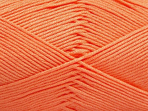 Fiber Content 50% Acrylic, 50% Bamboo, Light Salmon, Brand ICE, Yarn Thickness 2 Fine  Sport, Baby, fnt2-51663