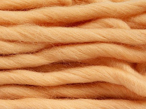 Fiber Content 100% Superwash Wool, Light Salmon, Brand ICE, Yarn Thickness 6 SuperBulky  Bulky, Roving, fnt2-51679
