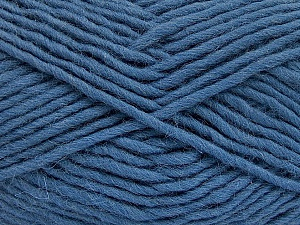 Fiber Content 100% Wool, Smoke Blue, Brand ICE, Yarn Thickness 5 Bulky  Chunky, Craft, Rug, fnt2-51921