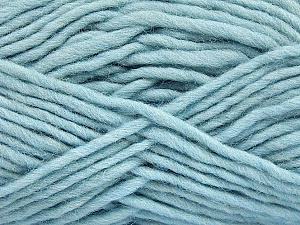 Fiber Content 100% Wool, Light Blue, Brand ICE, Yarn Thickness 5 Bulky  Chunky, Craft, Rug, fnt2-51922