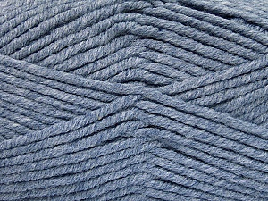 Fiber Content 80% Acrylic, 20% Polyamide, Brand ICE, Dark Jeans Blue, Yarn Thickness 5 Bulky  Chunky, Craft, Rug, fnt2-52058