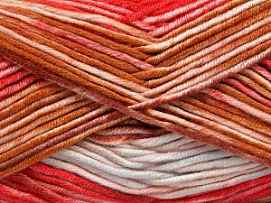 Fiber Content 100% Antipilling Acrylic, White, Red, Brand ICE, Brown, Baby Blue, Yarn Thickness 4 Medium  Worsted, Afghan, Aran, fnt2-52062