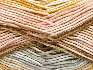 Fiber Content 100% Antipilling Acrylic, White, Powder, Light Grey, Brand ICE, Gold, Yarn Thickness 4 Medium  Worsted, Afghan, Aran, fnt2-52066