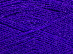 Fiber Content 100% Acrylic, Purple, Brand ICE, Yarn Thickness 3 Light  DK, Light, Worsted, fnt2-52096