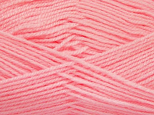 Fiber Content 100% Acrylic, Light Pink, Brand Ice Yarns, Yarn Thickness 3 Light  DK, Light, Worsted, fnt2-52100