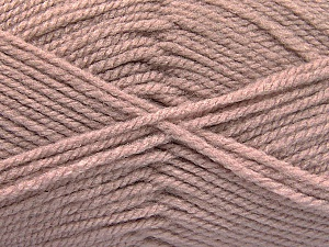 Worsted  Fiber Content 100% Acrylic, Rose Pink, Brand ICE, Yarn Thickness 4 Medium  Worsted, Afghan, Aran, fnt2-52126