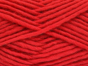 Fiber Content 100% Wool, Tomato Red, Brand ICE, Yarn Thickness 5 Bulky  Chunky, Craft, Rug, fnt2-52152