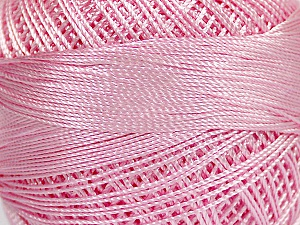 Fiber Content 100% Micro Fiber, Brand YarnArt, Light Pink, Yarn Thickness 0 Lace  Fingering Crochet Thread, fnt2-52270