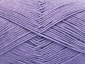 Fiber Content 100% Cotton, Lilac, Brand ICE, Yarn Thickness 2 Fine  Sport, Baby, fnt2-52365