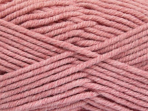 Fiber Content 80% Acrylic, 20% Polyamide, Rose Pink, Brand ICE, Yarn Thickness 5 Bulky  Chunky, Craft, Rug, fnt2-52914