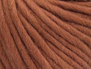 Fiber Content 100% Australian Wool, Rose Brown, Brand ICE, Yarn Thickness 6 SuperBulky  Bulky, Roving, fnt2-52942