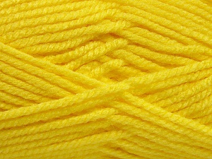 Fiber Content 100% Acrylic, Light Yellow, Brand ICE, Yarn Thickness 5 Bulky  Chunky, Craft, Rug, fnt2-53186