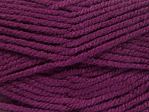 Fiber Content 100% Acrylic, Brand ICE, Dark Maroon, Yarn Thickness 5 Bulky  Chunky, Craft, Rug, fnt2-53193
