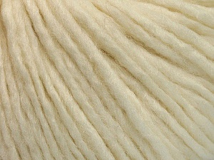 Fiber Content 50% Acrylic, 50% Wool, Brand ICE, Cream, Yarn Thickness 4 Medium  Worsted, Afghan, Aran, fnt2-53508