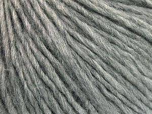 Fiber Content 50% Acrylic, 50% Wool, Light Grey, Brand ICE, Yarn Thickness 4 Medium  Worsted, Afghan, Aran, fnt2-53509