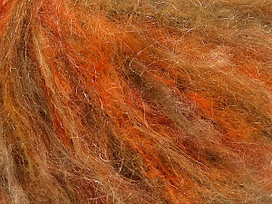 Fiber Content 39% Polyamide, 27% Acrylic, 21% Mohair, 13% Wool, Yellow, Brand ICE, Camel, Yarn Thickness 3 Light  DK, Light, Worsted, fnt2-53675
