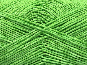 Fiber Content 100% Mercerised Cotton, Light Green, Brand ICE, Yarn Thickness 2 Fine  Sport, Baby, fnt2-53789