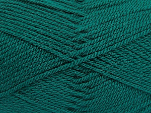 Fiber Content 100% Acrylic, Brand ICE, Dark Green, Yarn Thickness 2 Fine  Sport, Baby, fnt2-53822