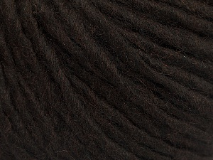 Fiber Content 50% Acrylic, 50% Wool, Brand ICE, Coffee Brown, Yarn Thickness 5 Bulky  Chunky, Craft, Rug, fnt2-54031