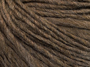 Fiber Content 50% Wool, 50% Acrylic, Brand ICE, Camel, Yarn Thickness 4 Medium  Worsted, Afghan, Aran, fnt2-54032