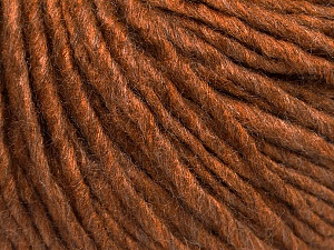 Fiber Content 50% Wool, 50% Acrylic, Brand ICE, Caramel, Yarn Thickness 5 Bulky  Chunky, Craft, Rug, fnt2-54033