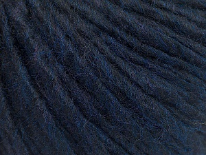 Fiber Content 50% Acrylic, 50% Wool, Navy, Brand ICE, Yarn Thickness 5 Bulky  Chunky, Craft, Rug, fnt2-54036
