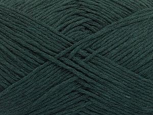 Please note that the yarn weight and the ball length may vary from one color to another for this yarn. Fiber Content 100% Cotton, Brand ICE, Dark Green, Yarn Thickness 3 Light  DK, Light, Worsted, fnt2-54132