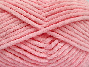 Fiber Content 100% Micro Fiber, Light Pink, Brand ICE, Yarn Thickness 4 Medium  Worsted, Afghan, Aran, fnt2-54163