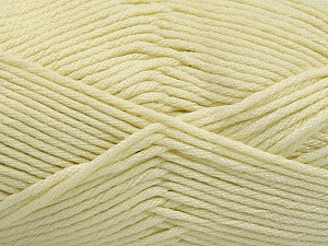 Fiber Content 50% SuperFine Nylon, 50% SuperFine Acrylic, Brand ICE, Cream, Yarn Thickness 4 Medium  Worsted, Afghan, Aran, fnt2-54330