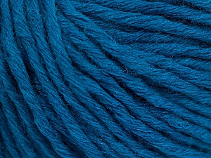 Fiber Content 55% Acrylic, 45% Wool, Turquoise, Brand ICE, Yarn Thickness 5 Bulky  Chunky, Craft, Rug, fnt2-54379
