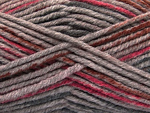 Fiber Content 80% Acrylic, 20% Polyamide, Pink, Brand ICE, Grey, Brown, Yarn Thickness 5 Bulky  Chunky, Craft, Rug, fnt2-54418