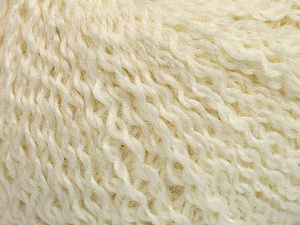 Fiber Content 42% Wool, 33% Acrylic, 19% Alpaca, 1% Elastan, Brand ICE, Cream, Yarn Thickness 3 Light  DK, Light, Worsted, fnt2-54823