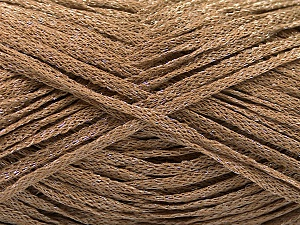 Fiber Content 82% Viscose, 18% Polyester, Brand ICE, Camel, Yarn Thickness 4 Medium  Worsted, Afghan, Aran, fnt2-54965