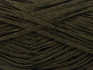 Fiber Content 82% Viscose, 18% Polyester, Brand ICE, Dark Khaki, Yarn Thickness 4 Medium  Worsted, Afghan, Aran, fnt2-54970