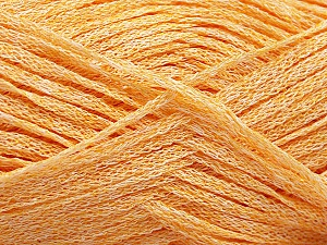 Fiber Content 82% Viscose, 18% Polyester, Light Orange, Brand ICE, Yarn Thickness 4 Medium  Worsted, Afghan, Aran, fnt2-54977