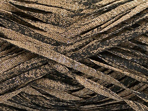 Fiber Content 82% Viscose, 18% Polyester, Brand ICE, Camel, Black, Yarn Thickness 5 Bulky  Chunky, Craft, Rug, fnt2-55028