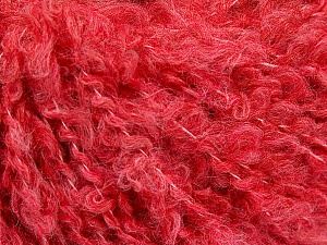Fiber Content 45% Acrylic, 25% Wool, 20% Mohair, 10% Polyamide, Salmon, Brand ICE, Yarn Thickness 4 Medium  Worsted, Afghan, Aran, fnt2-55234