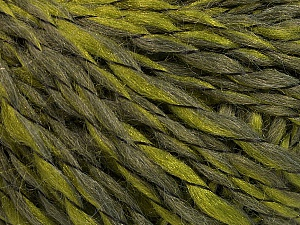 Fiber Content 90% Acrylic, 10% Polyamide, Khaki, Brand ICE, Green, Yarn Thickness 3 Light  DK, Light, Worsted, fnt2-55263