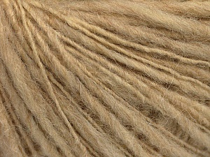 Fiber Content 60% Acrylic, 40% Wool, Brand ICE, Beige, Yarn Thickness 3 Light  DK, Light, Worsted, fnt2-55404