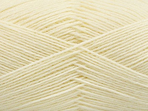 Fiber Content 75% Superwash Wool, 25% Polyamide, Brand ICE, Cream, Yarn Thickness 1 SuperFine  Sock, Fingering, Baby, fnt2-55465