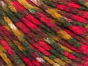 Fiber Content 60% Acrylic, 40% Wool, Olive Green, Maroon, Khaki, Brand ICE, Fuchsia, Yarn Thickness 3 Light  DK, Light, Worsted, fnt2-55525