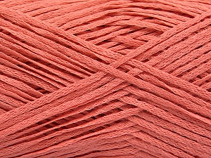 Fiber Content 100% Acrylic, Salmon, Brand ICE, Yarn Thickness 2 Fine  Sport, Baby, fnt2-55892