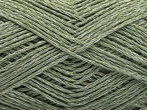 Fiber Content 44% Cotton, 44% Acrylic, 12% Polyamide, Khaki, Brand ICE, Yarn Thickness 2 Fine  Sport, Baby, fnt2-56011
