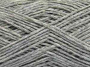 Fiber Content 44% Cotton, 44% Acrylic, 12% Polyamide, Brand ICE, Grey, Yarn Thickness 2 Fine  Sport, Baby, fnt2-56021