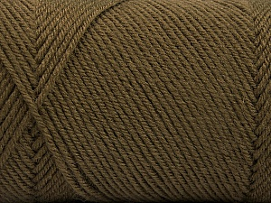 Fiber Content 50% Wool, 50% Acrylic, Brand ICE, Camel, Yarn Thickness 3 Light  DK, Light, Worsted, fnt2-56429